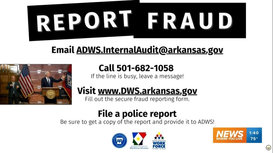 Governor Warns About Unemployment Fraud In Arkansas 5newsonline Com