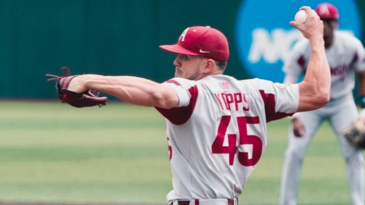 Hogs hold off Vols to win rubber match, 3-2