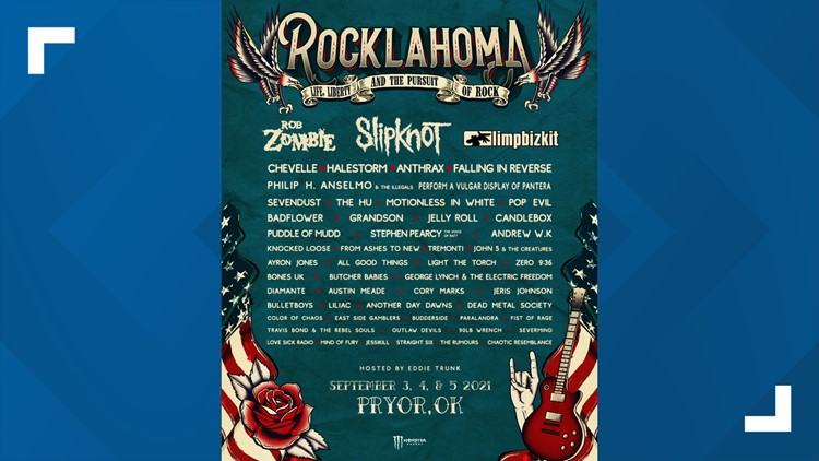 Rocklahoma 2021 lineup announced