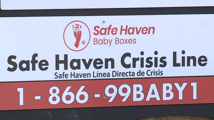 Safe Haven baby box installed at Fort Smith Fire Station