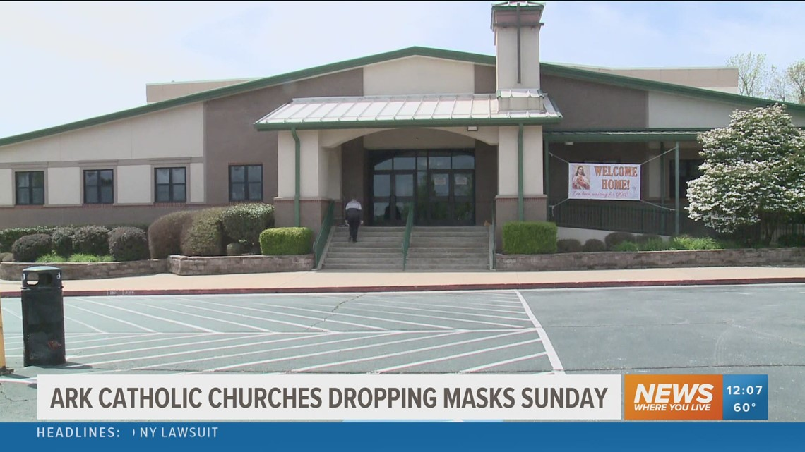 Little Rock diocese loosens COVID-19 restrictions at Catholic churches across Arkansas