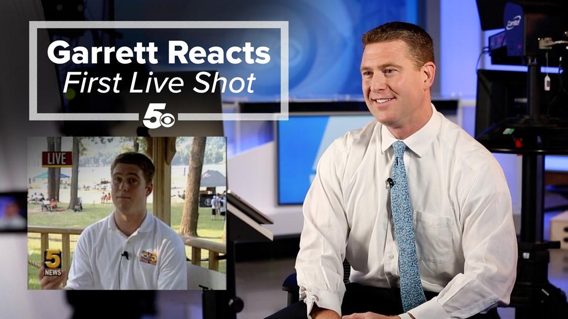 Garrett Reacts - First Live Shot