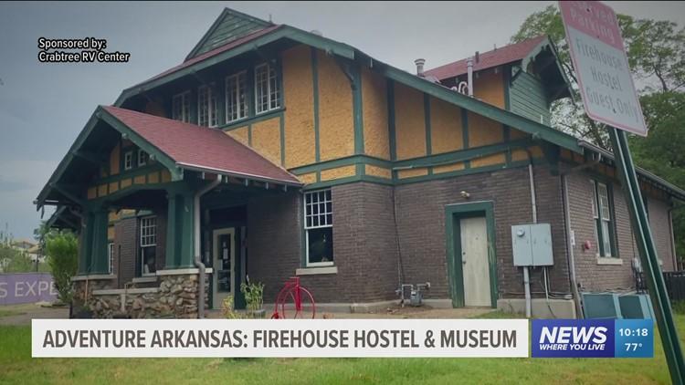Adventure Arkansas: Firehouse Hostel & Museum