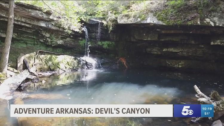 Adventure Arkansas:  Devil's Canyon