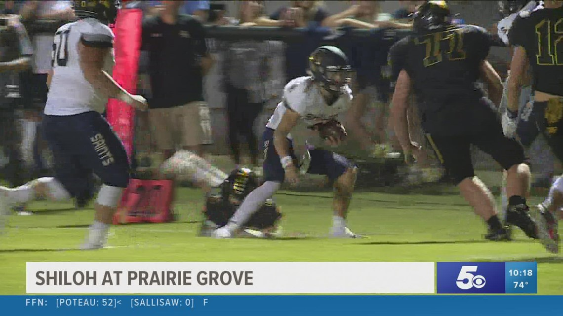 5NEWS Game of the Week: Shiloh defeats Prairie Grove