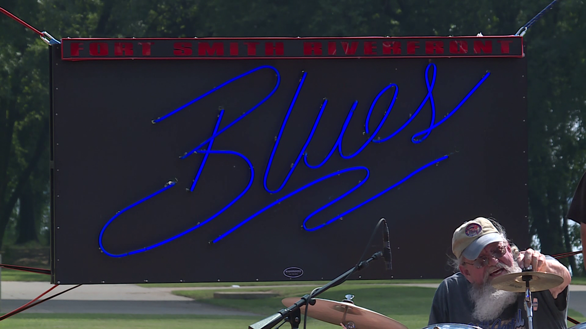 Riverfront Blues Festival underway with free admission