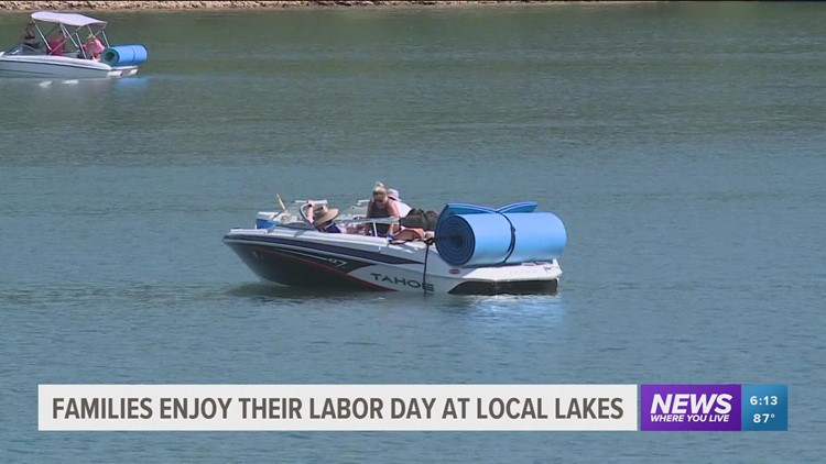 Labor Day lake traffic boost local businesses