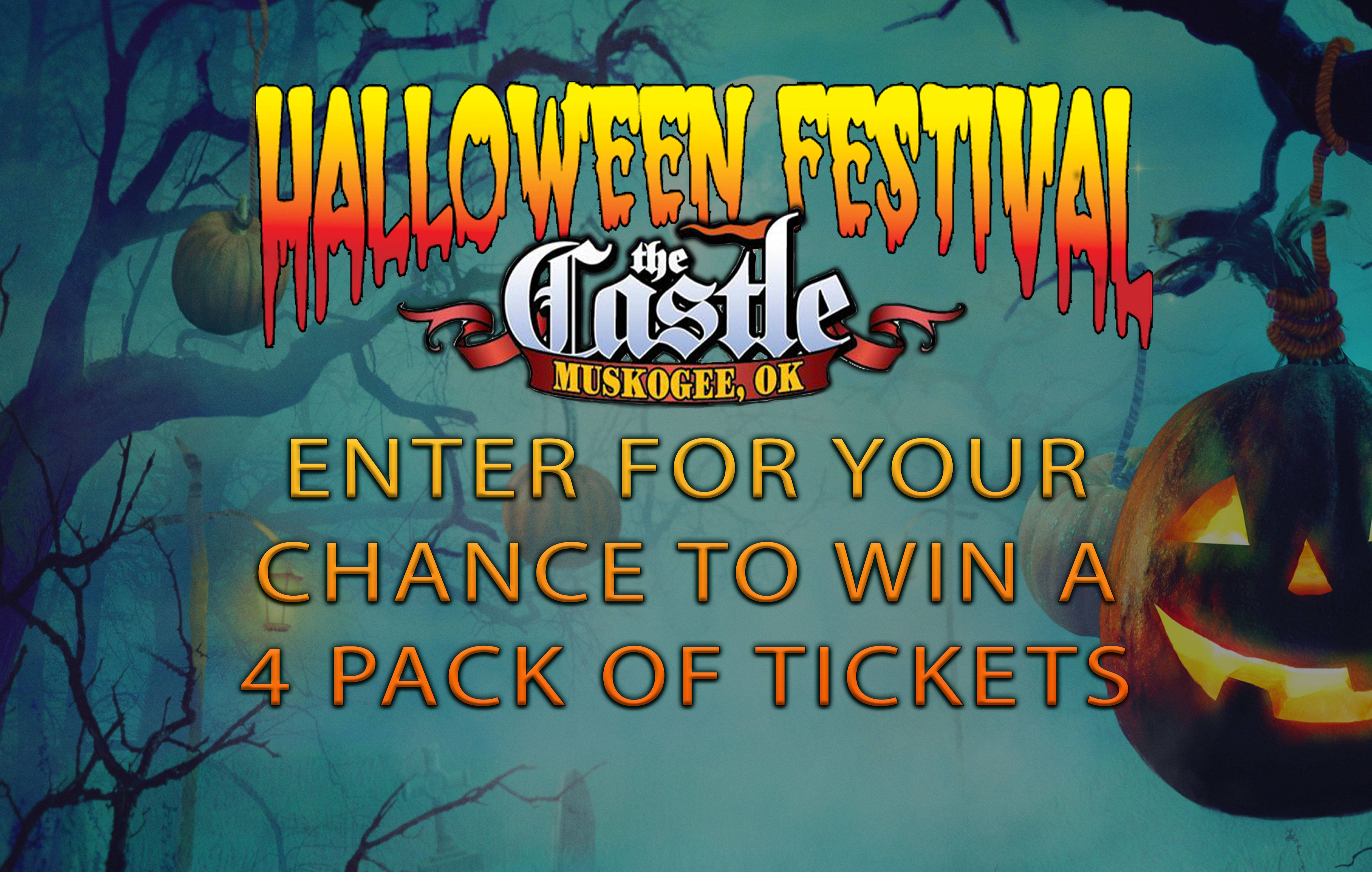 Castle of Muskogee Halloween Festival Ticket Giveaway
