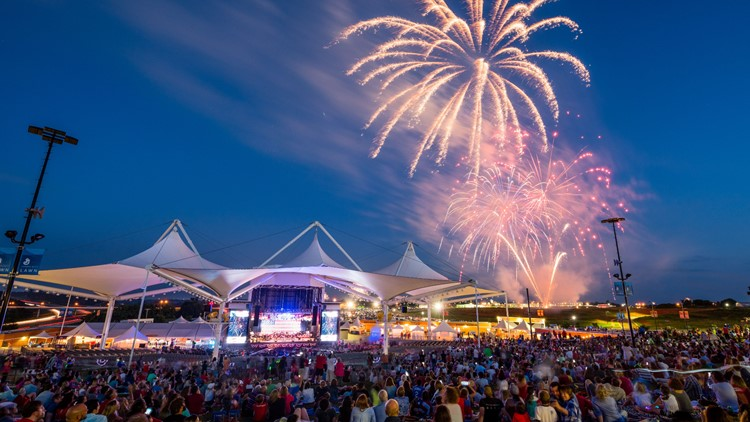 Walmart AMP to host July Fourth fireworks display and concert