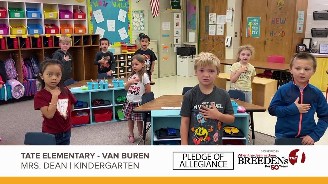 Mrs. Dean Kindergarten Tate Elementary, Van Buren