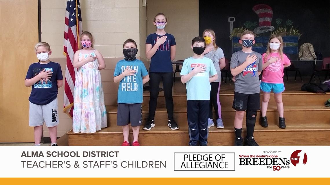 Teacher's & Staff's children Alma School District