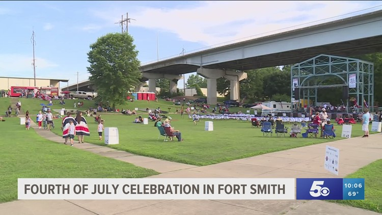 Fort Smith mayor's annual July 4 celebration held at Riverfront Park for first time in two years