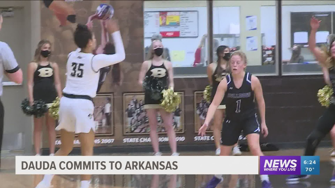 Dauda commits to Arkansas