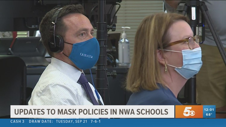 Rogers Schools update mask policy