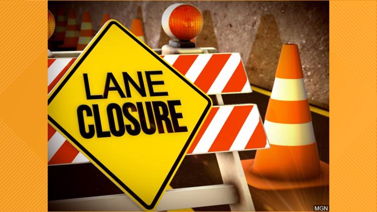 Zion Road experiencing phased closures through March 2022