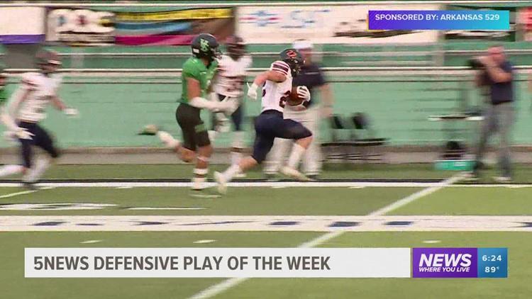 Defensive Play of the Week 9/15