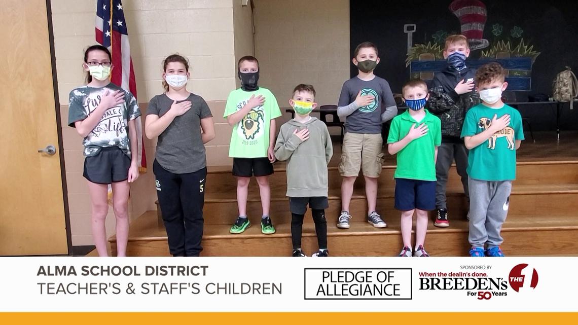 Alma School District Teacher's & Staff's Children