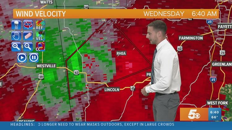 4.28.2021 Washington Co Tornado Warning