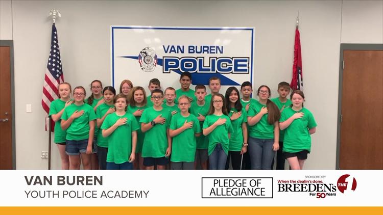 Van Buren Youth Police Academy