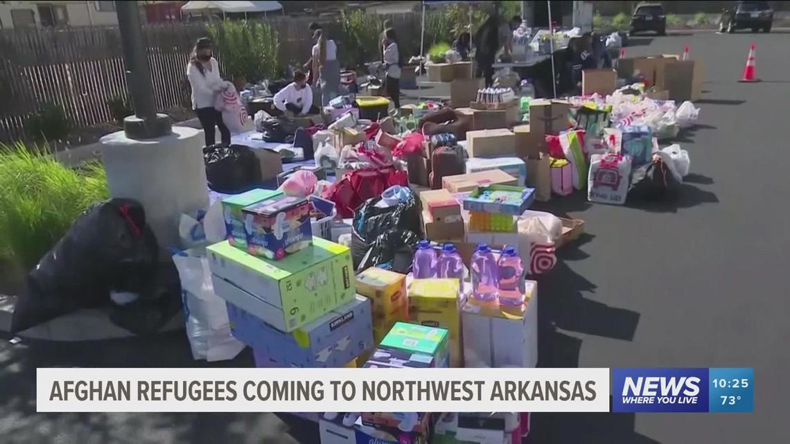 NWA group creates welcome kits for Afghan refugees