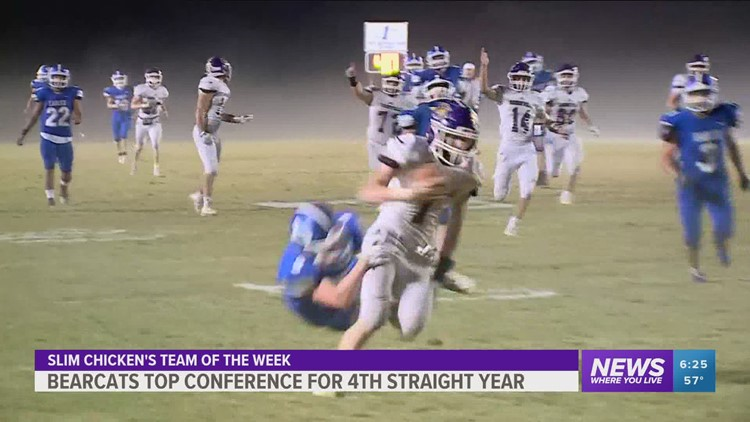 Booneville Team of the Week