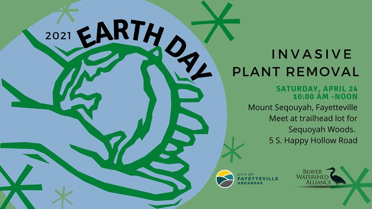 Public invited to participate in Earth Day Invasive Plant Removal at Mt. Sequoyah