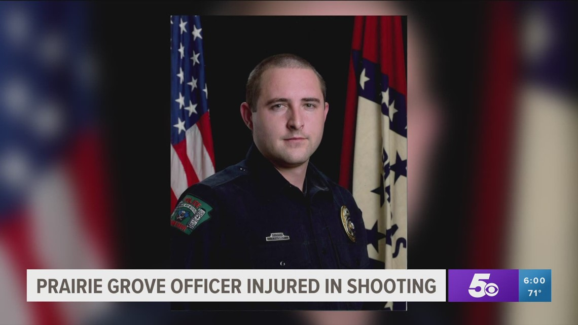 Prairie Grove officer shot during disturbance, undergoes multiple surgeries