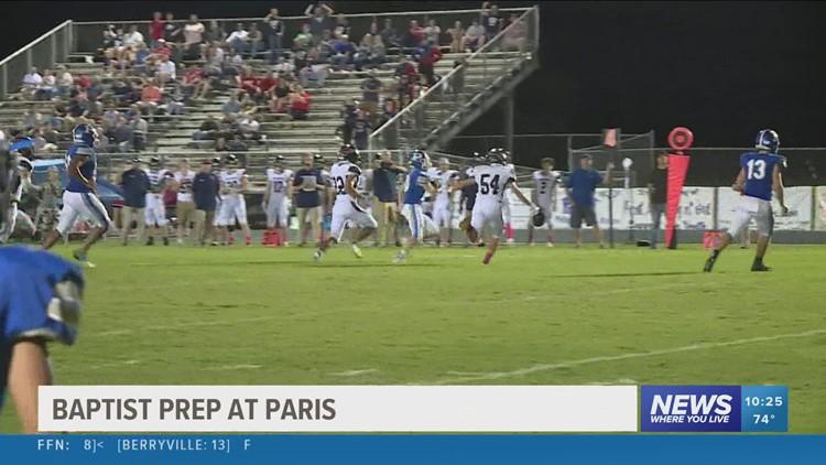 Paris knocks off Baptist Prep