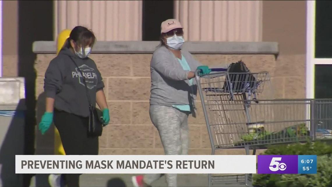 Arkansas lawmakers vote to prevent mask mandate's return
