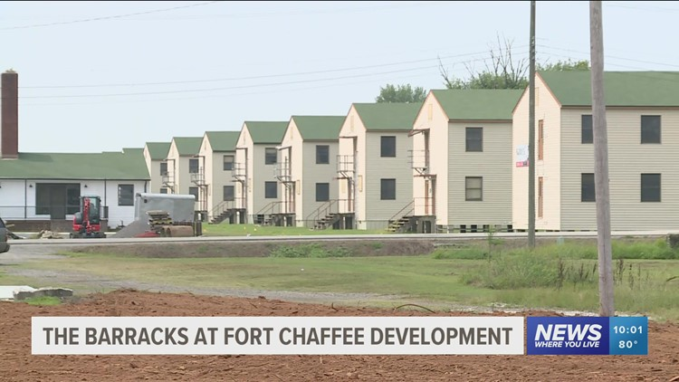 Historic army barracks in Fort Chaffee to be renovated