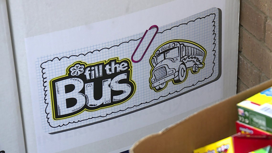 United Way of Northwest Arkansas Fill the Bus school supply drive going 100% virtual