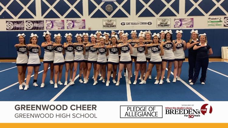 Greenwood Cheer, Greenwood High School
