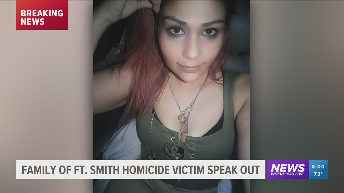 Family of Fort Smith murder victim speak out