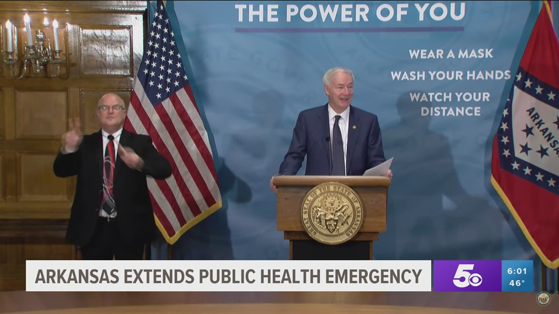 Explainer: Gov. Asa Hutchinson's changes to the COVID-19 public health directives