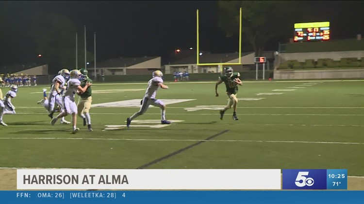 Alma falls at home to Harrison