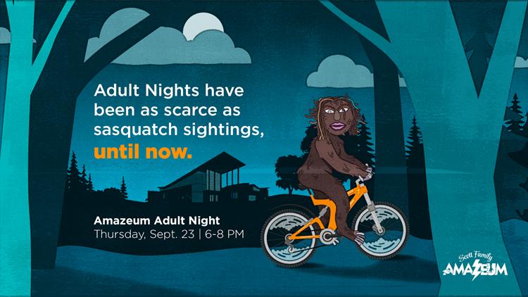 Adult Nights return to the Scott Family Amazeum