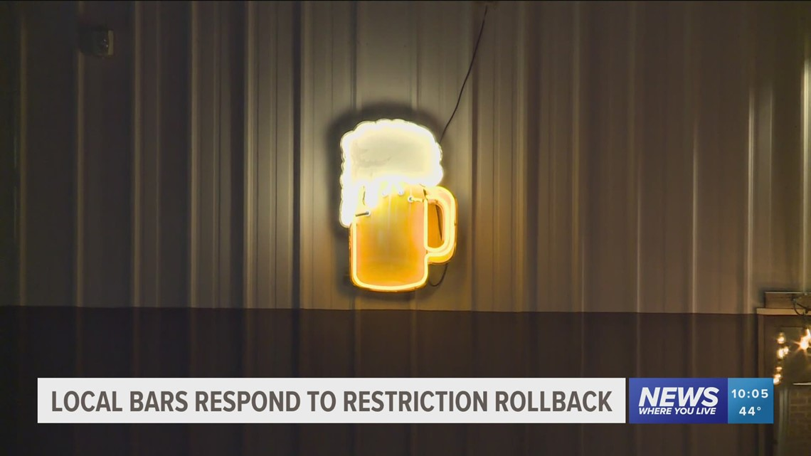 Dickson Street bar owners react to lifting of some COVID-19 directives in Arkansas
