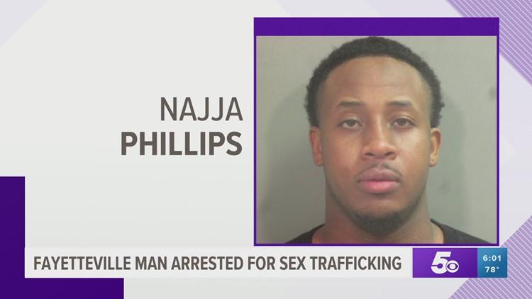 Fayetteville man arrested for sex trafficking in FBI, police raid