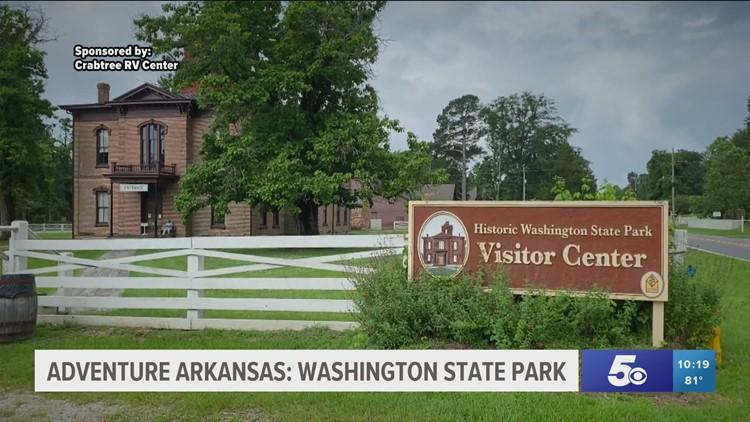 Adventure Arkansas: Washington State Park