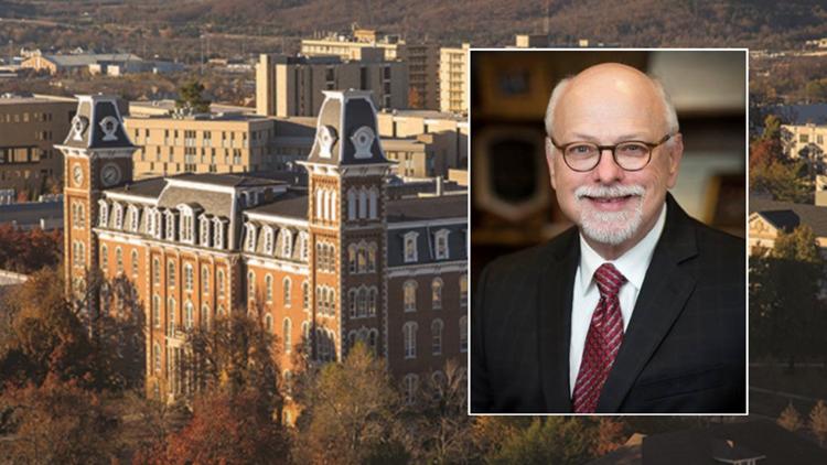 University of Arkansas Chancellor Joe Steinmetz resigning