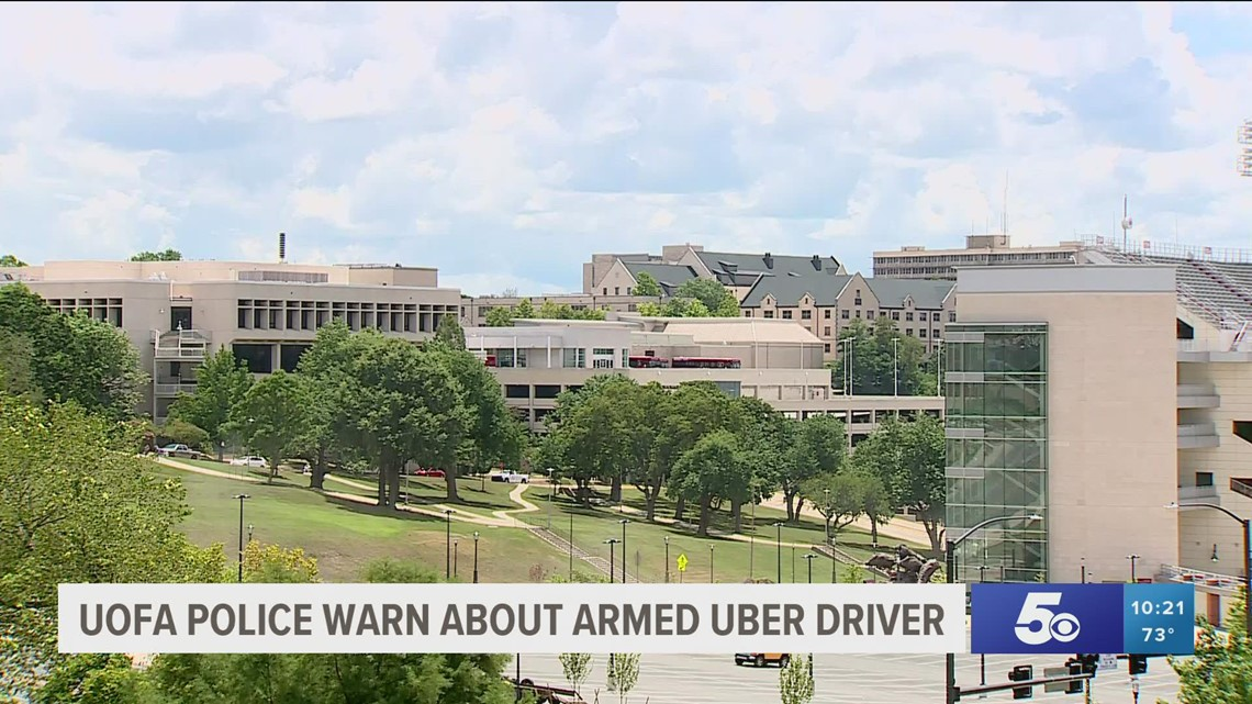 UAPD sends out warning after Uber driver allegedly displayed a firearm to students