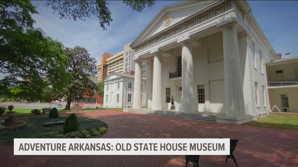 Adventure Arkansas: Old State House Museum