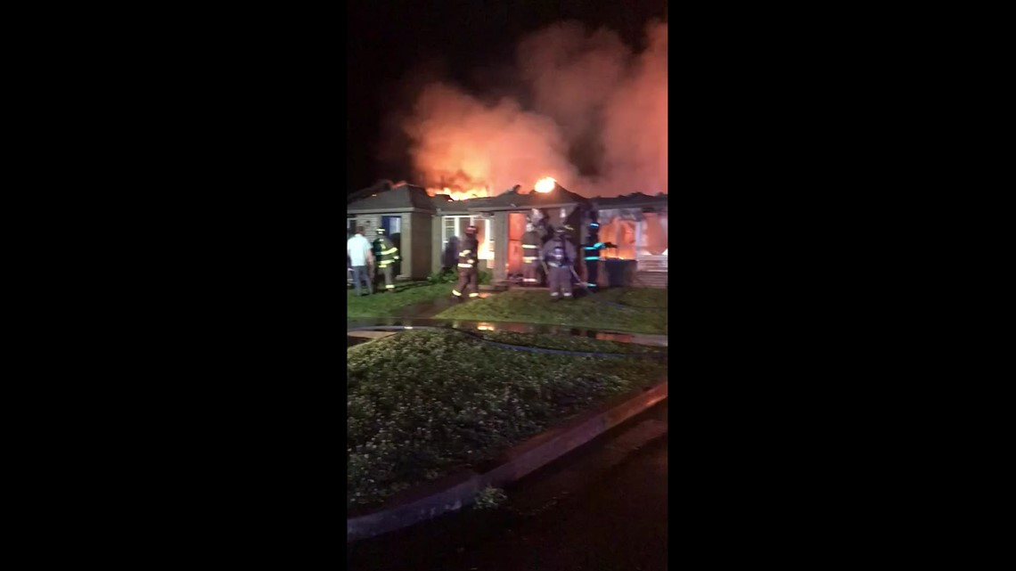 Quail Run Apartments in Mulberry extensively damaged after fire