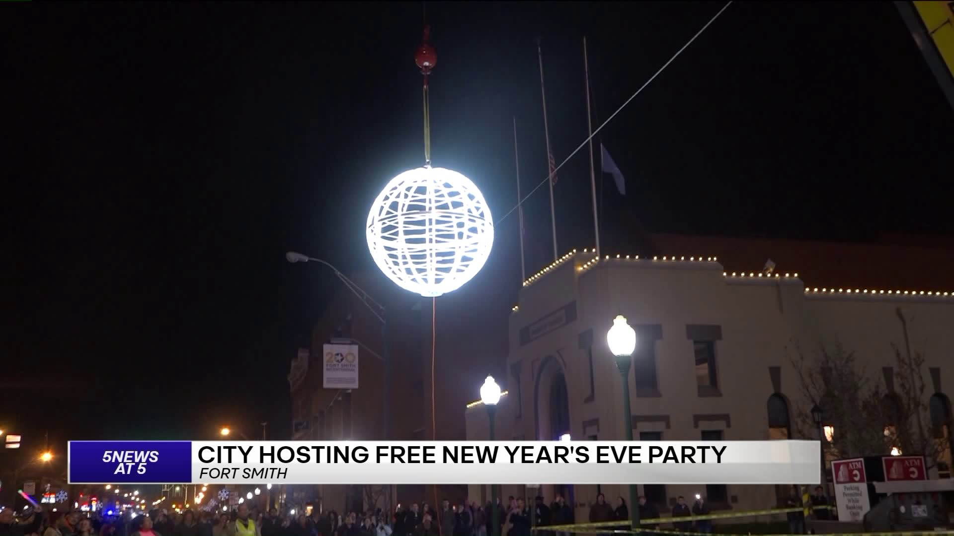 Fort Smith Christmas Lights 2020 2020 New Year's Eve Ball Drop In Fort Smith | 5newsonline.com
