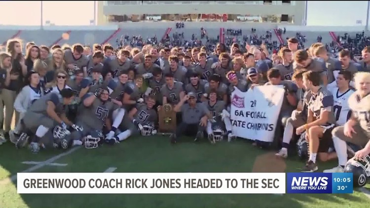 Greenwood Football Coach Rick Jones Leaving For Role At Missouri