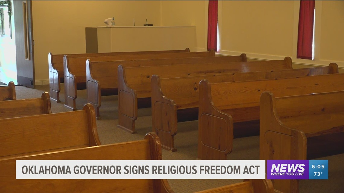 Gov. signs 'Oklahoma Religious Freedom Act' into law