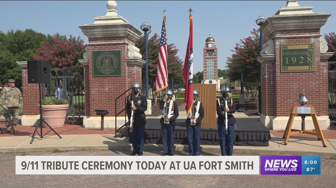 UA Fort Smith holds ceremony to remember 9/11