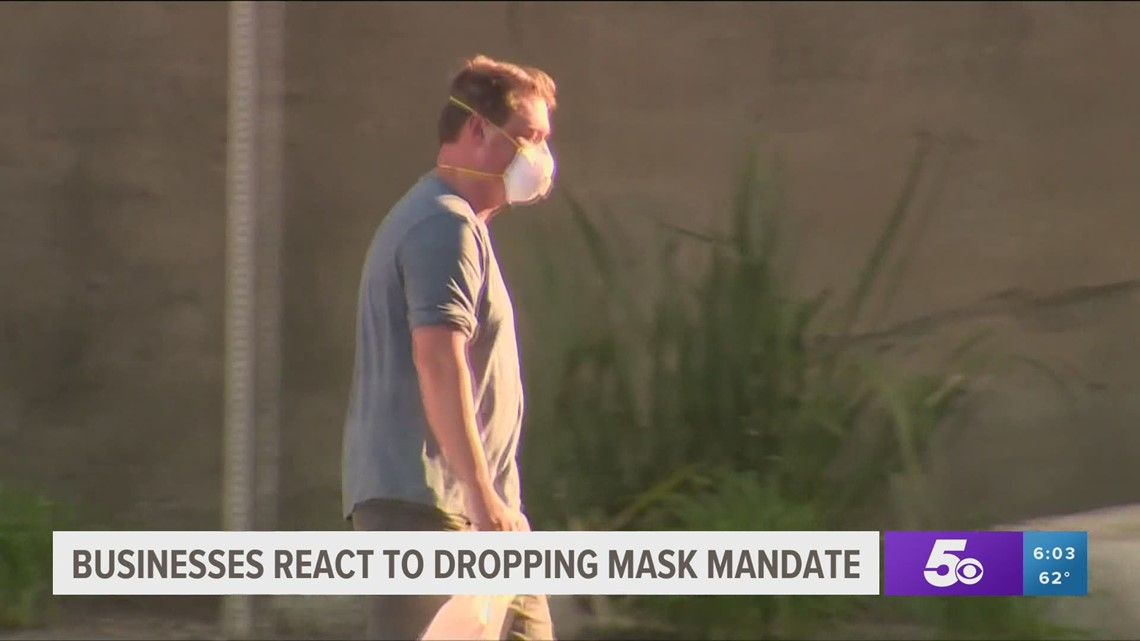 Businesses react to the end of the statewide mask mandate