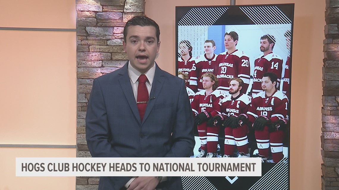 Arkansas Club Hockey heads off to ACHA National Tournament