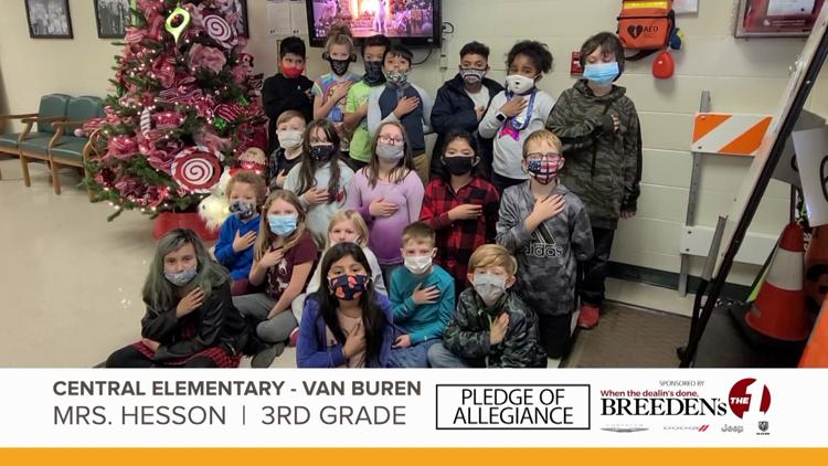 Mrs. Hesson 3rd Grade Central Elementary Van Buren